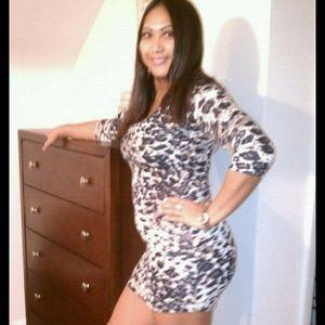 Leapord dress